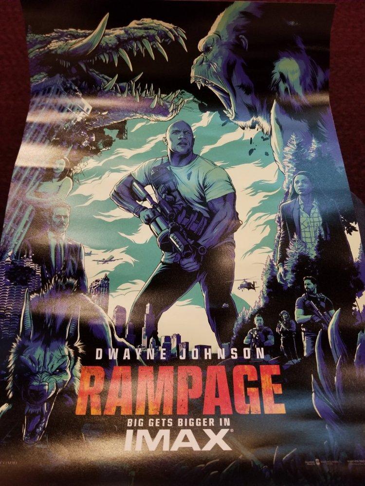 80年代アーケードゲームが原作の『ランペイジ 巨獣大乱闘』は、ここ最近のモンスター映画の中で最も痛快で、怪獣プロレスの醍醐味をきちんと楽しませてくれる良作映画!